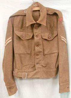 WW2 1942 Dated, 1940 Pattern, Corporal's, Eastern Command UK, Corps Of Military Police Battledress Blouson Jacket With Formation Patches By ...
