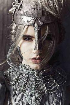 Thyra as a warrior!...