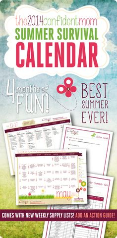 summer fun for kids on budget, kids calendar, quality time with kids summer, famili time, increas famili