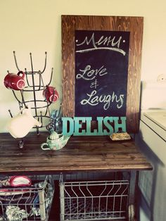 Create A Vintage-Looking Kitchen Sign