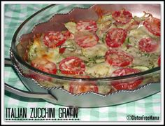 Italian Zucchini Gratin