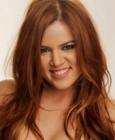 love colour khloe kardashian, kourtney kardashian, style, red hair, new haircuts, red carpets, new hair colors, beauti, redhead