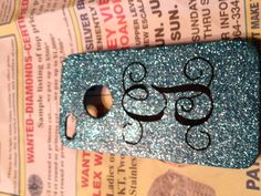 My homemade iPhone case...