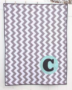 monogram quilt