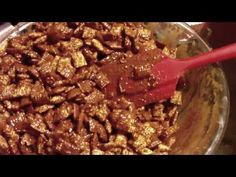 How to Make Kate Gosselin's Monkey Munch Recipe!  YUM!!! I add pecans and golden raisins into the mix but thats just me!, nd I use shreddies I think they taste better than rice chex.