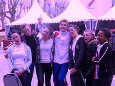 Jacques Ferrari Et Les Filles  Au Concours De Voltige International de Saumur 2013:  L'Equipe De France