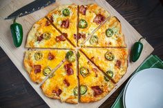 Jalapeno Popper Pizza