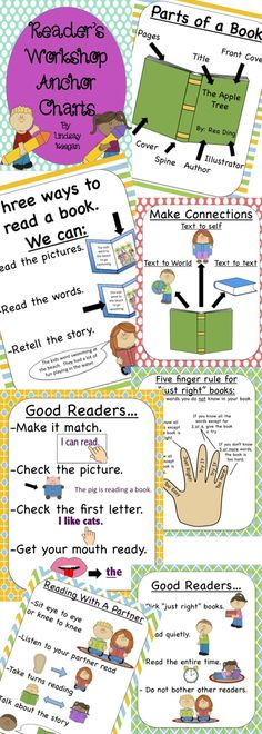 Reading Group Activities - Reading Anchor Charts!