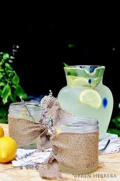 Basil Lavender Lemonade Spritzer