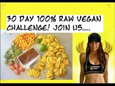30 days High Carb Raw Vegan Challenge!