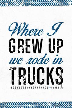 We Rode In Trucks by Luke Bryan