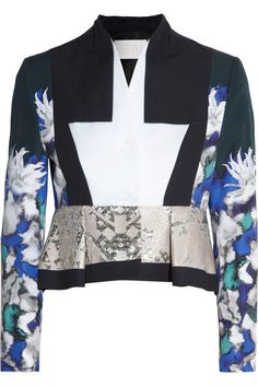 Shop now: Peter Pilotto printed jacket
