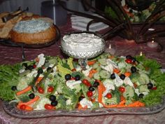 veg tray pic