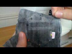 MiloMila.com Sewing Doll Jeans - Back Pockets