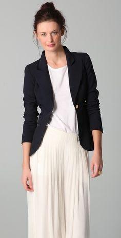 SMYTHE One Button Blazer - StyleSays