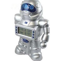 Robot Savings Bank with Alarm Clock
