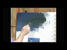 Painting a night sky with Jerry Yarnell