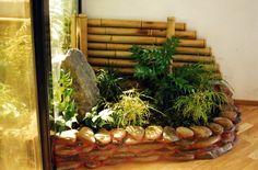 garden ideas, garden style, condo garden, corner garden