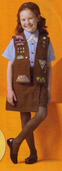 girl scout uniforms brownies on pinterest brownie girl