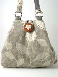 handmade hobo tote shoulder bag 2 way bag italian by daphnenen, $95.00