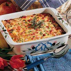 farmers, baked eggs, breakfast casserole, family gatherings, fun recip