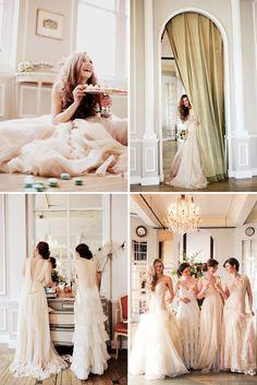 Feminine Wedding Inspiration ♥ Женствено сватбено вдъхновение   79 Ideas