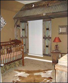 roof, cowboy theme, shutter, kid rooms, boy rooms, boy nurseries, nursery themes, little boys, babies rooms