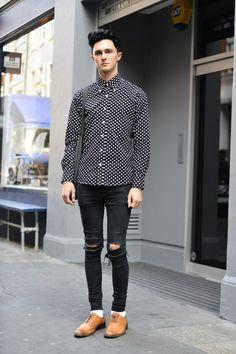 rocker style #fashion #style #inspiration #mens