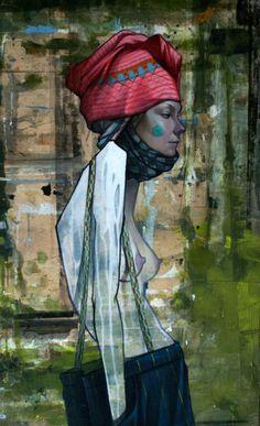 Street artist Sainer