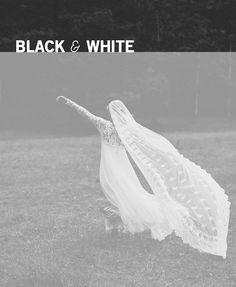 ann fontain, black white