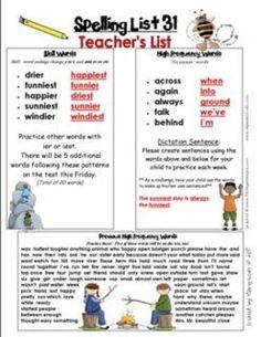 Spelling Lists That Make Sense-Second Grade $12.00