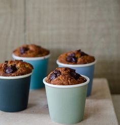 Cakes baked in paper cups!