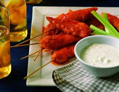 Make this healthier alternative to buffalo wings
