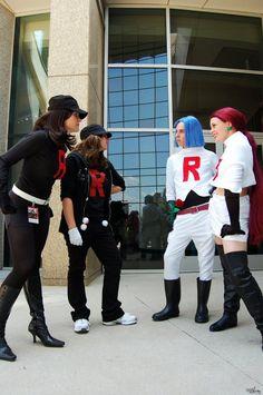 Team Rocket vs Team Rocket by ~saraaamarie