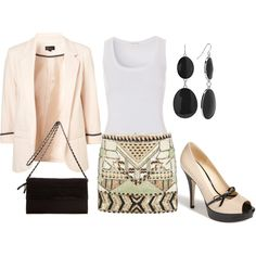Chic Summer. Work Outfit