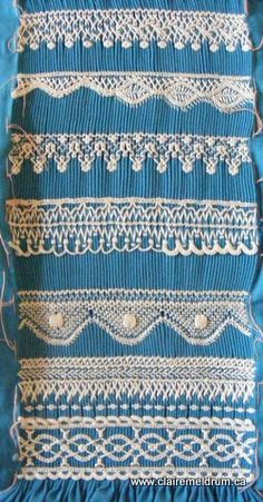 smock lace, smocking arts guild of america, smocking embroidery, heirloom sew, embroid lace