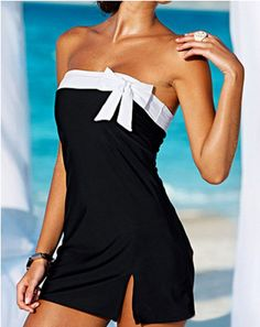Cute bow swimsuit bow swimsuit