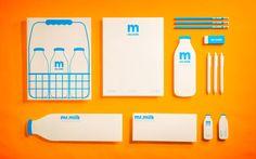 Mr. Milk Branding logo