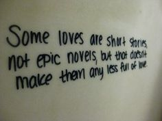 A little love wisdom