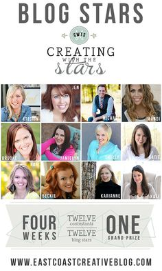 Creating with the Stars 2014 Season ...check it out! Excited to be partnering with @Sharon Johnston Coast Creative