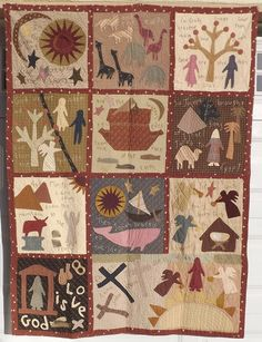 Bible Quilt-Pattern by Jan Patek by Miyuki