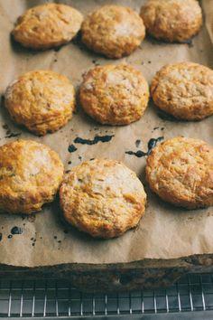 Herbed sweet potato biscuits