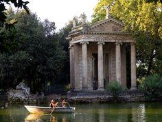Best Picnics in the world: Villa Borghese Gardens, Rome, Italy