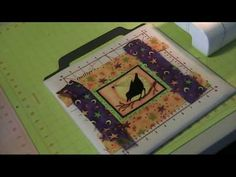 How to miter a quilt border - love the cat meowing in the background. :-)