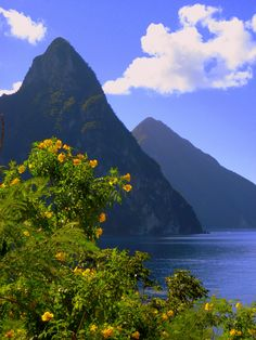 The Pitons, St Lucia, Caribbean
