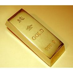 Fake gold bar. A must have!
