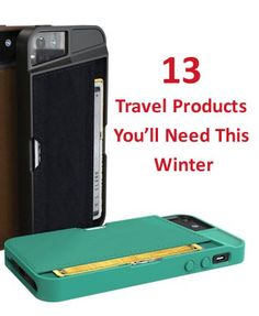 13 Travel Products You'll Need this Winter #budgettravel #travel #iphone #case #cellphone #gadget www.budgettravel.com