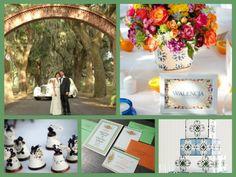 Spanish themed wedding