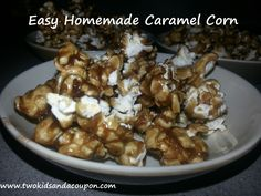 Homemade Carmel Corn