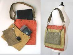tote messenger laptop bag diaper bag purse handbag by daphnenen